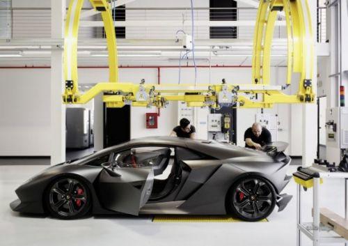İşte Lamborghini Sesto Elemento!