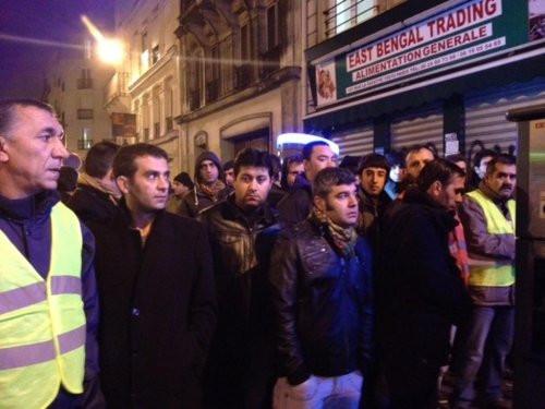 Pariste hepimiz PKKlıyız katil Türkiye sloganları