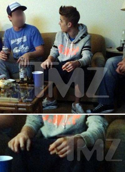 Justin Bieber'in hayranları çıldırdı!