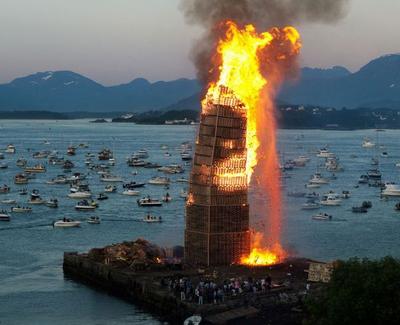 Dünyanın en büyük yangını
