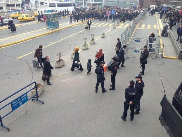 PKKlı cenazeleri İstanbulda