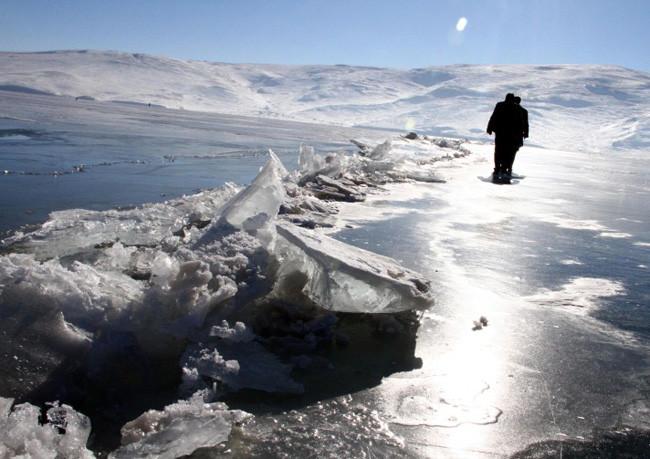Doğu buz kesti! Termometre -31i gösterdi