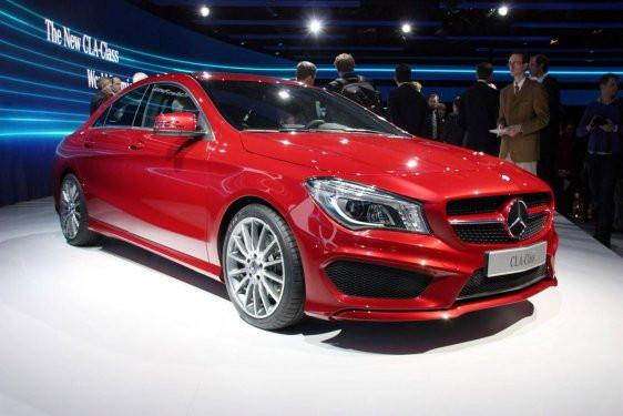 Coupe görünümlü 4 kapılı Mercedes CLA tanıtıldı