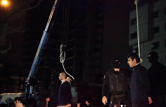 İranda şoke eden idamlar