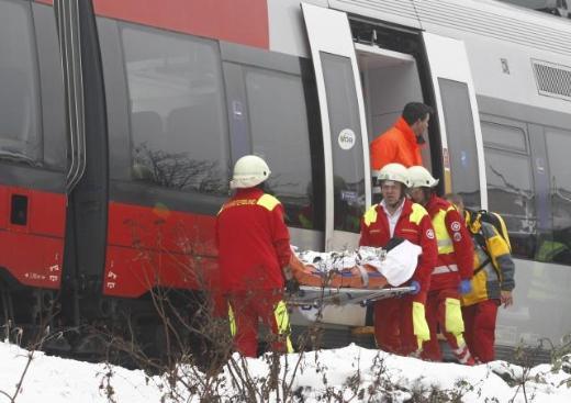 Viyanada tren kazası