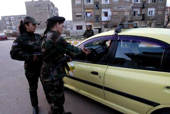 Suriye ordusunun dişi aslanları