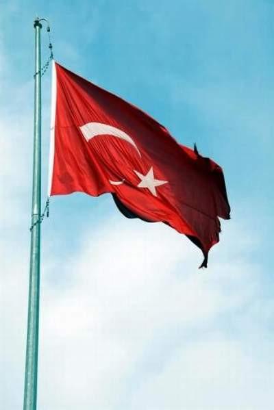 Zonguldakta bayrak rezaleti !