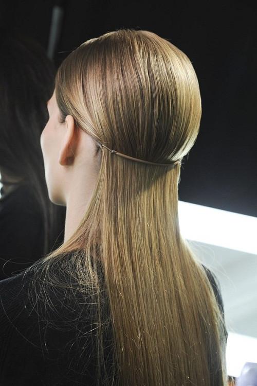 2013 düz saç modelleri