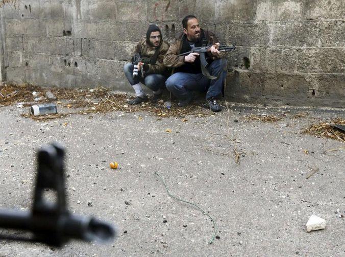 Suriyede ölüm anı böyle çekildi