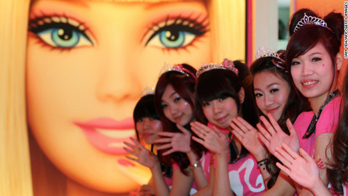Bu Barbie tam ağzıma layık!