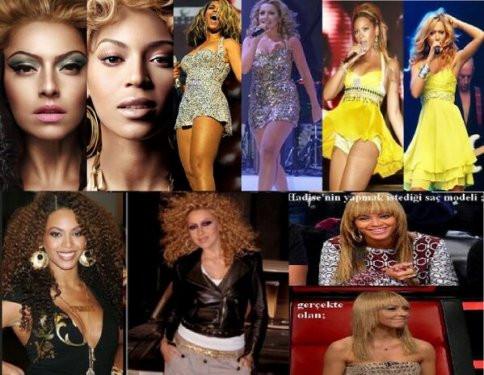 Çakma Beyonce Hadise