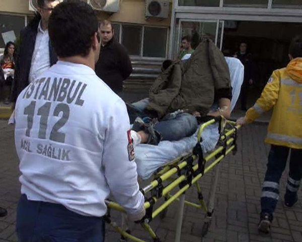 İstanbulda sokak ortasında çatışma!
