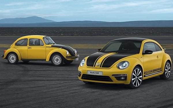 40 yıl sonra VW Beetle'ın GSR
