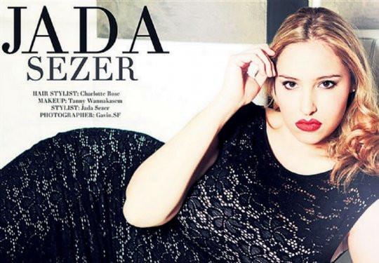 Londra Moda Haftasında Türk kızı Jada Sezer