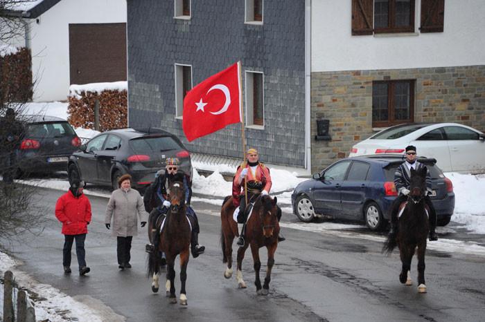 Avrupanın göbeğinde Türksüz Türk köyü