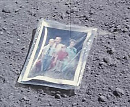 Aydaki fotoğrafın sırrı çözüldü