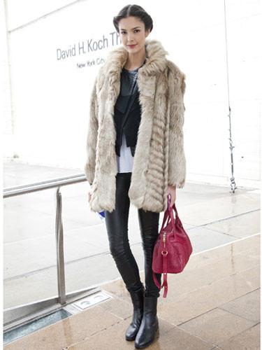 Manhattanın kış modası
