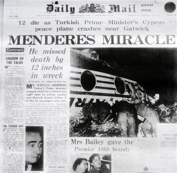 Menderes mucizesi İngiliz basınında