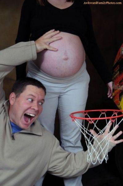 Yaratıcı hamilelik pozları