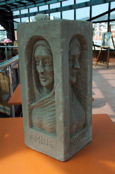 Peygamber annelerinin heykeli yapıldı