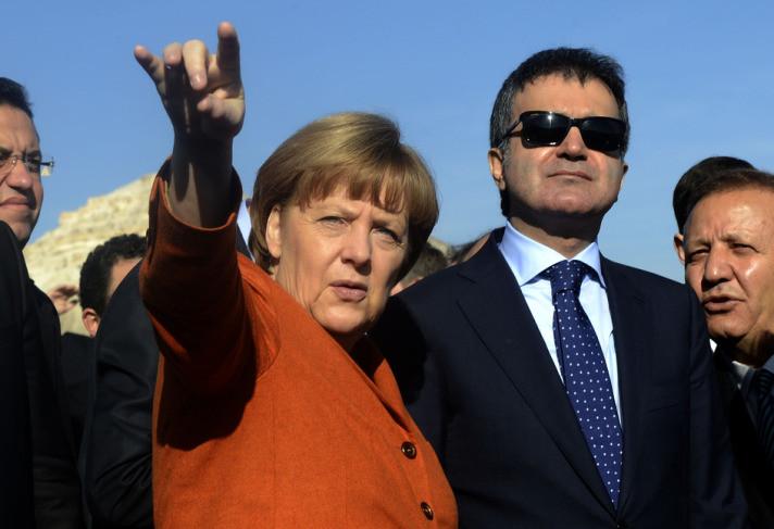 Merkel Kapadokya turunda