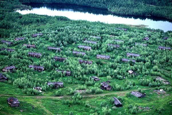 Sibiryadaki ölüm kampı