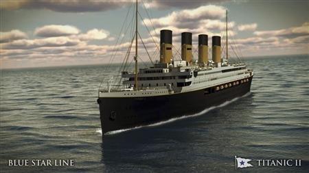 Titanike hoşgeldiniz