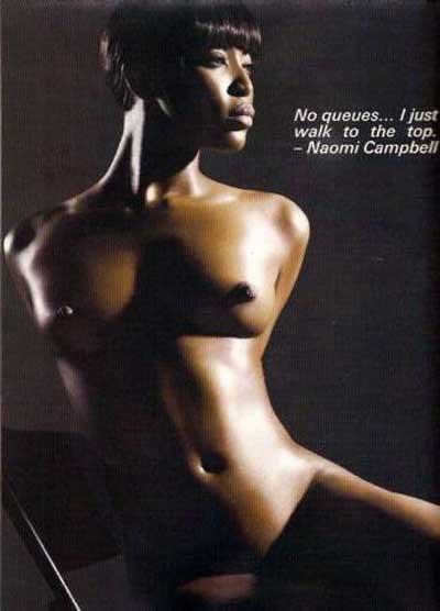 Dolce & Gabbana için Naomiden ilginç pozlar