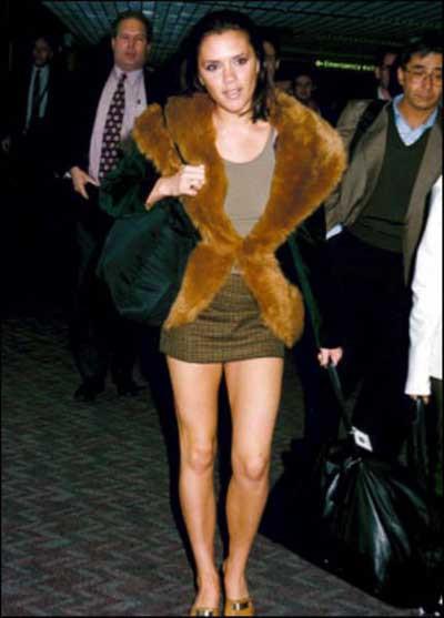 Victoria Beckhamın eski fotoğrafları şok ediyor