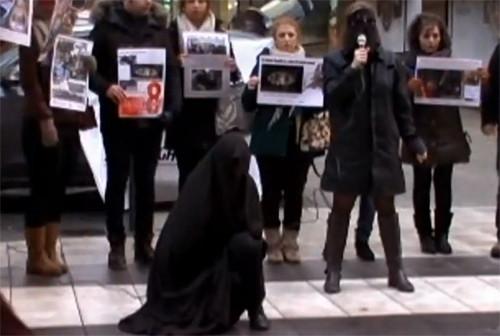 İranın FEMEN kızları !