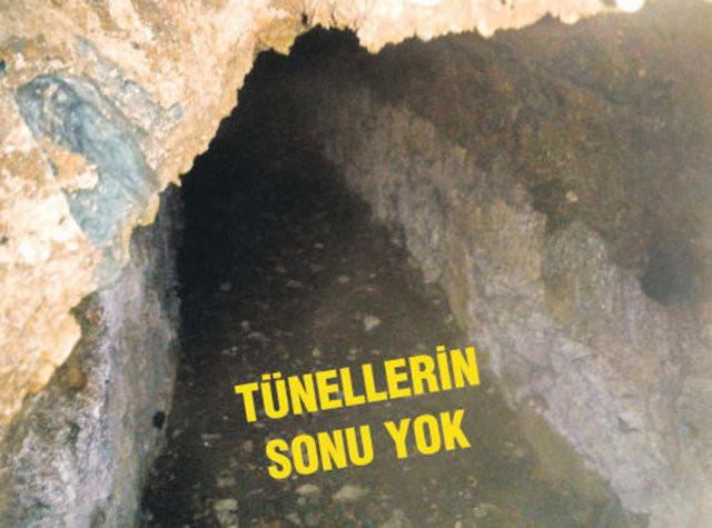 Taksimin altında gizemli tüneller!