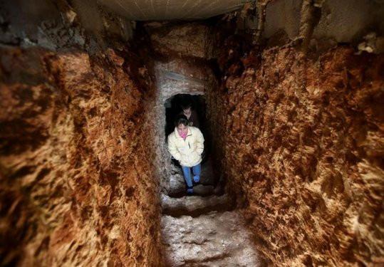 Yeryüzde ölüm yeraltında yaşam devam ediyor