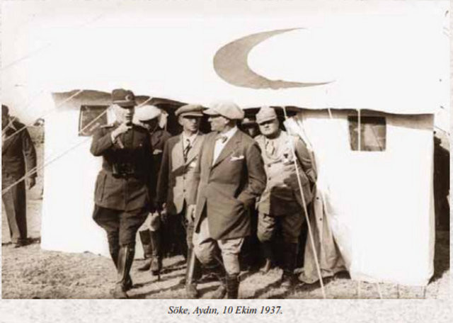 Atatürkün ölmeden önceki son yılı