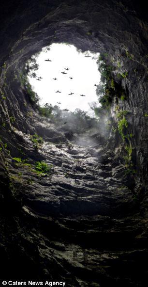 Hobbit mağarası bulundu