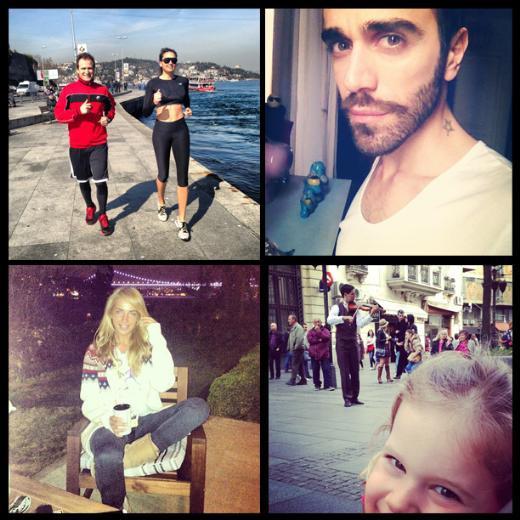 Ünlülerin Instagram fotoğrafları 11 Mart
