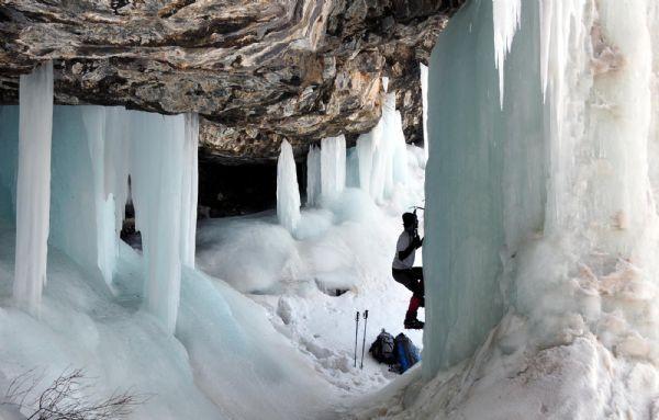 Vanın gizli buz cenneti