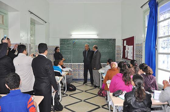 Deniz Baykaldan Türk okuluna ziyaret