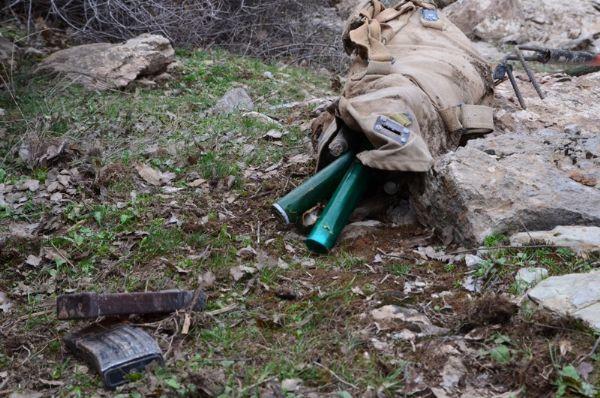 PKK mühimmatları ele geçirildi