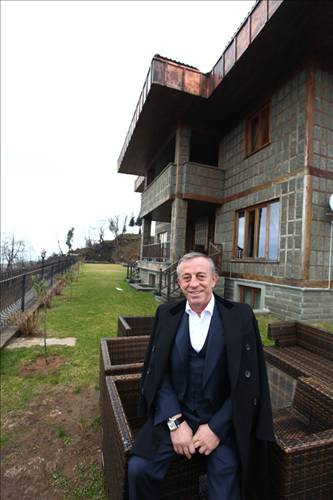 Ali Ağaoğlunun Trabzondaki evi
