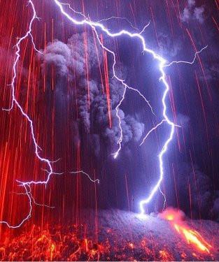 Sakurajima lav püskürtüyor