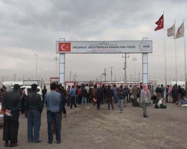 Çadır kentte olaylı gün !