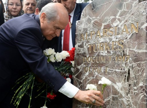 Türkeş mezarı başında anıldı