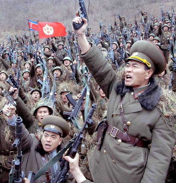 Kuzey Kore ordusunun gücü