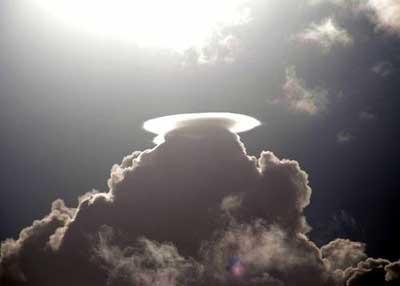 Gökyüzündeki enteresan şekiller