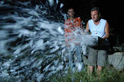 Peri Tozu filminin kamera arkası