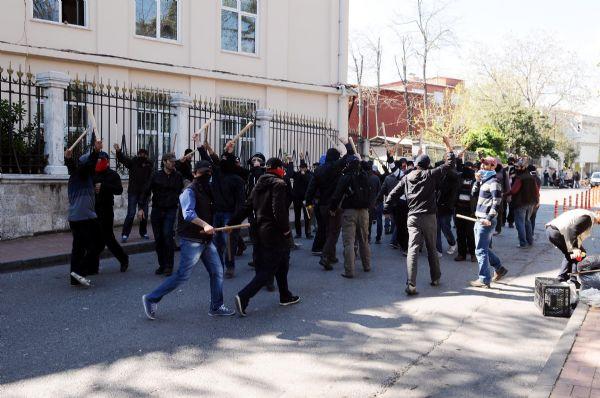 İstanbulun göbeğinde kim bunlar!