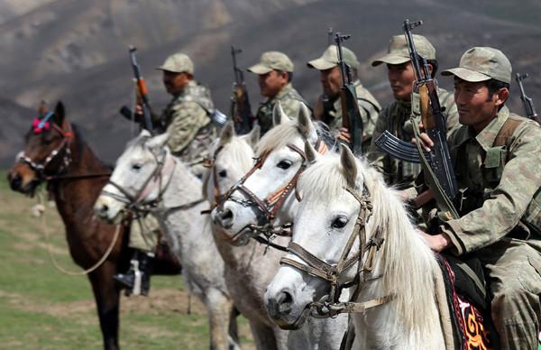 Vanda Kırgız süvari birliği