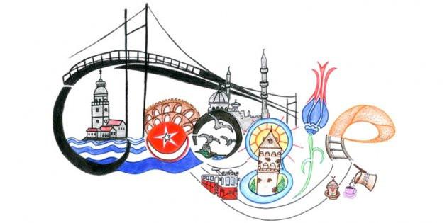 10 Türk öğrenci Doodle çizdi