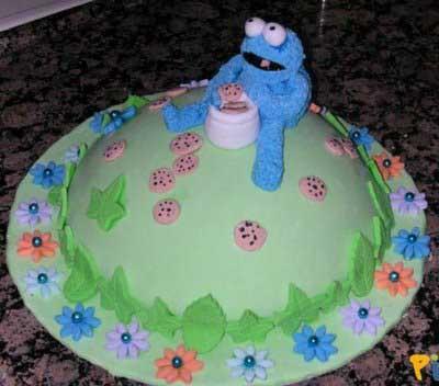 Hiç böyle doğum günü pastanız oldu mu ?