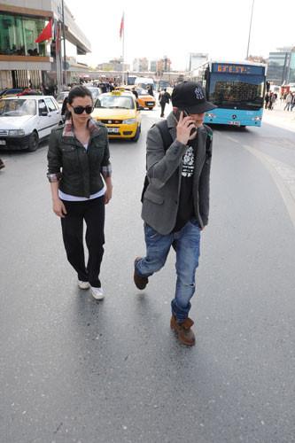 Taksimde suskun Rüzgar